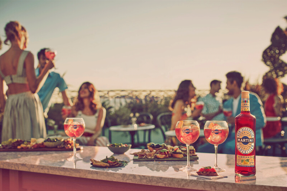 Martini Vibrante & Tonic