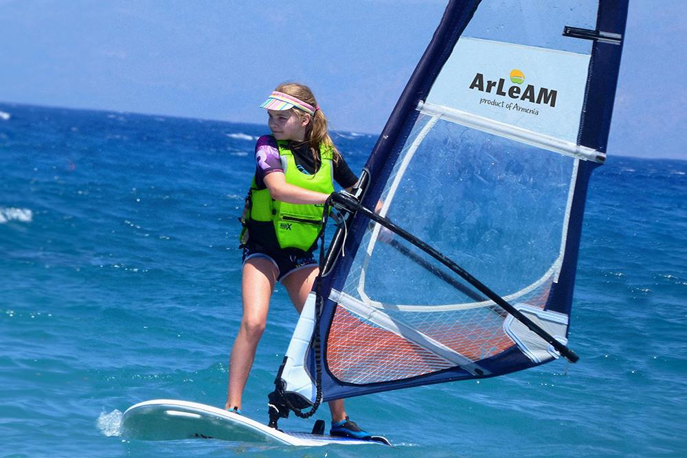 ArLeAM is the sponsor of Yerevan sailing club