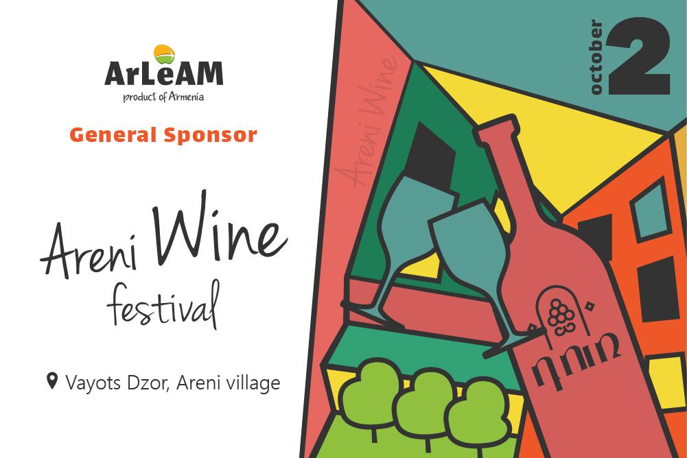 ArLeAM is the general sponsor of Areni Wine Festival.