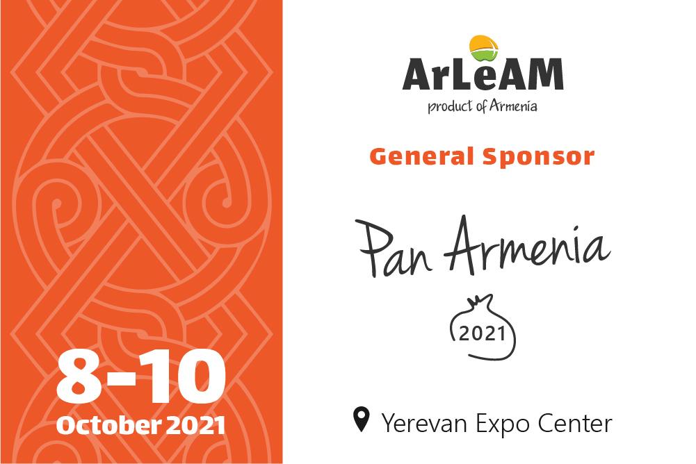 ArLeAM is the General Sponsor of Panarmenian Expo 2021.