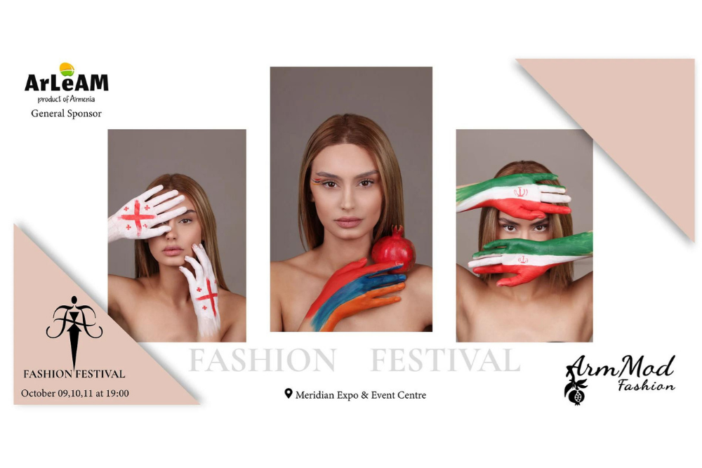 ArLeAM is the general sponsor of the ArmMod fashion festival.