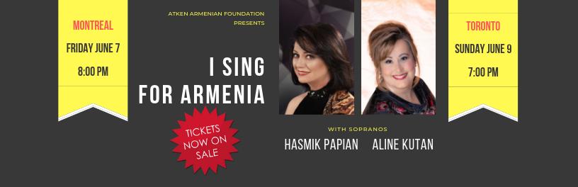 I Sing For Armenia