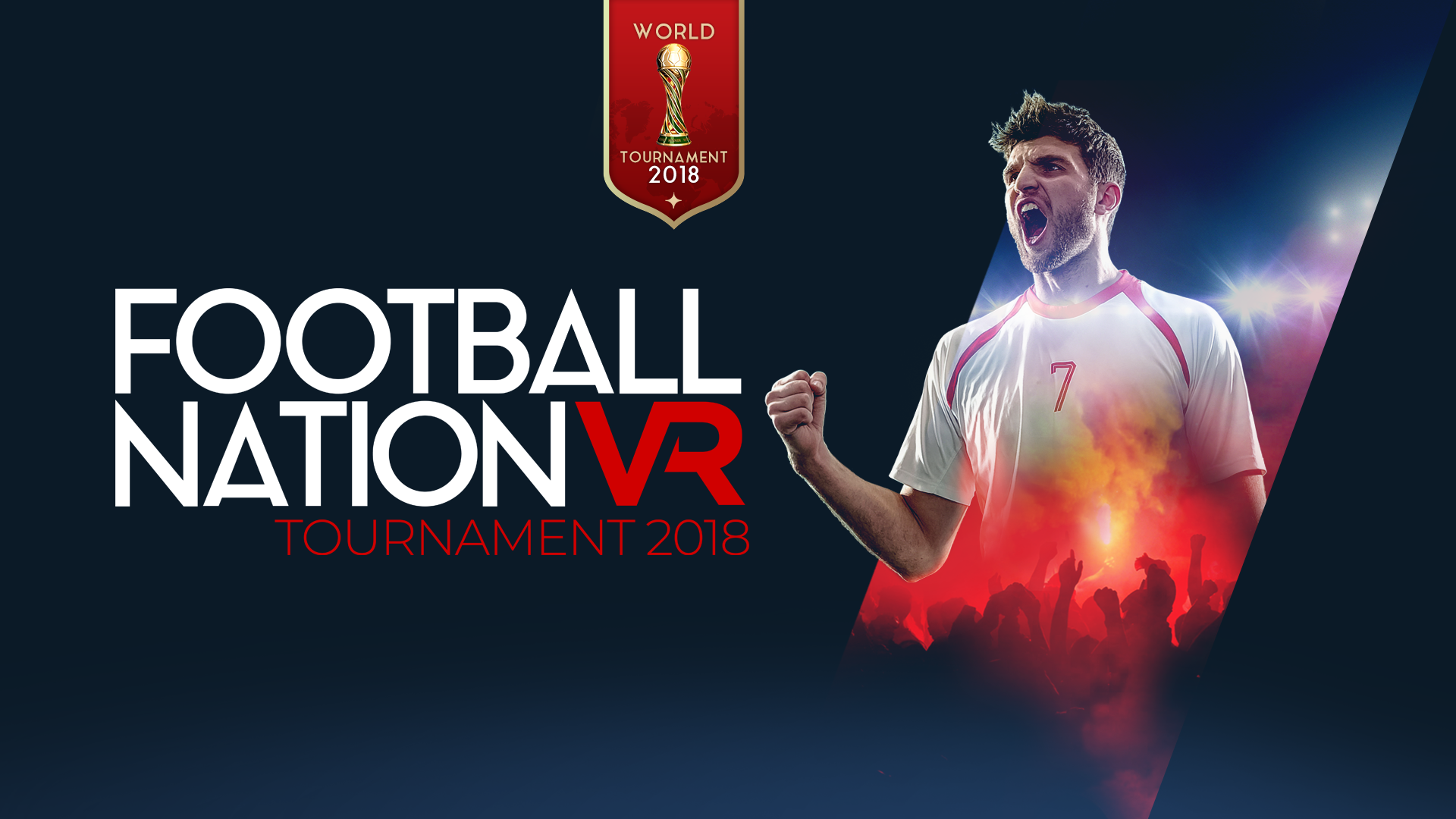 IS FOOTBALL COMING HOME - ENGLAND HOLDING THEIR LEAD IN THE WORLDS FIRST INTERNATIONAL VR FOOTBALL TOURNAMENT