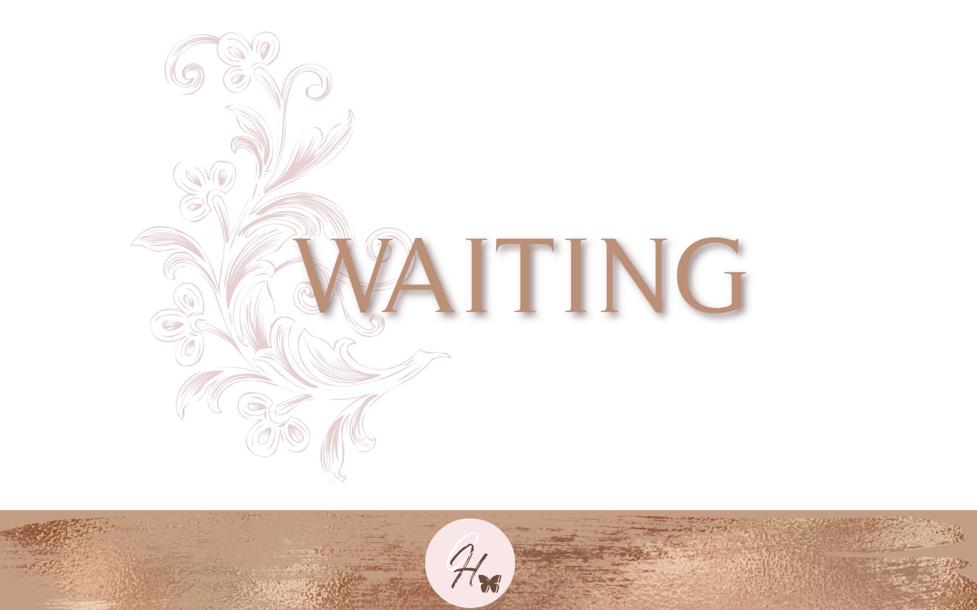 Waiting - Bible Study Guide