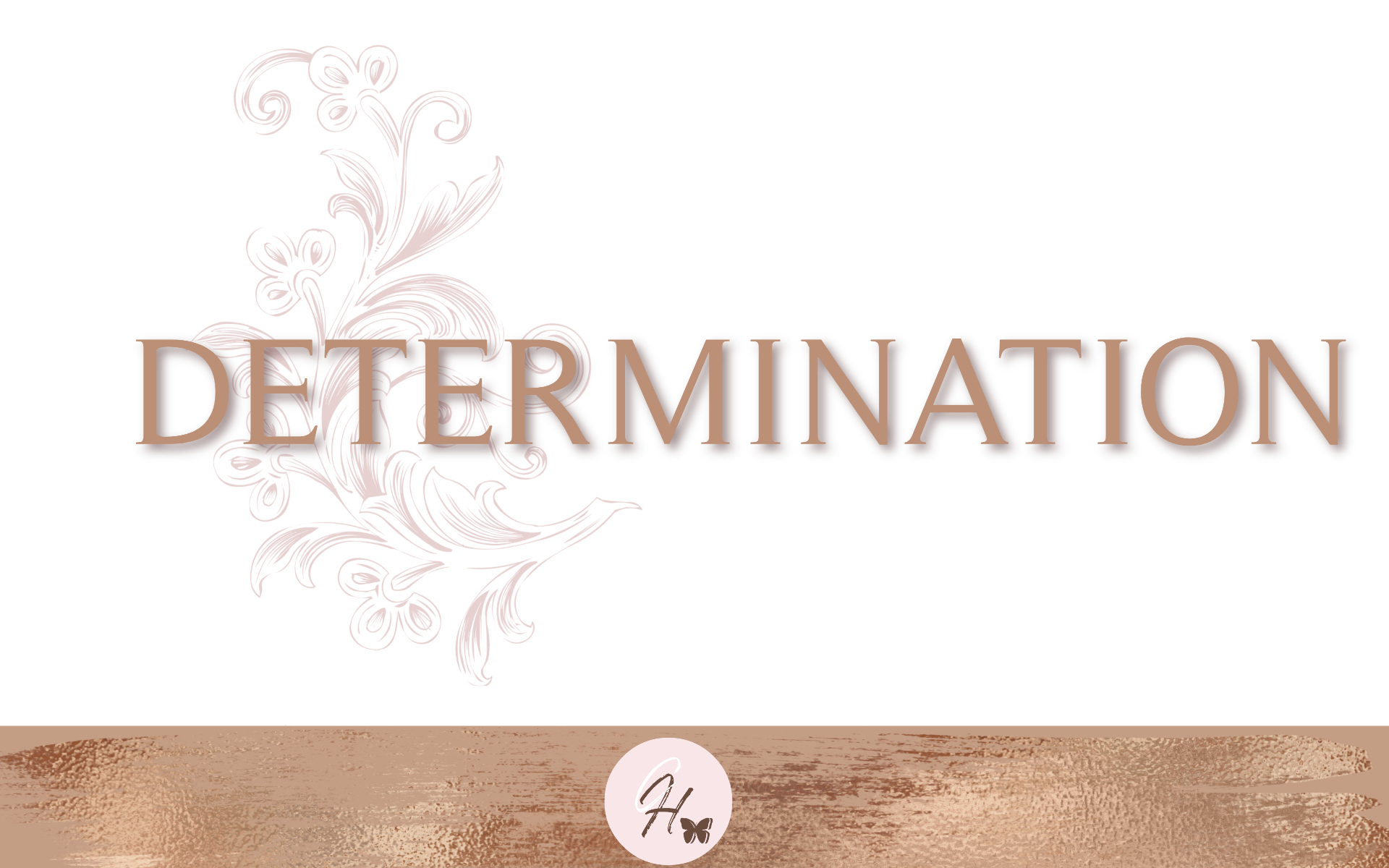 Determination- Bible Study Guide