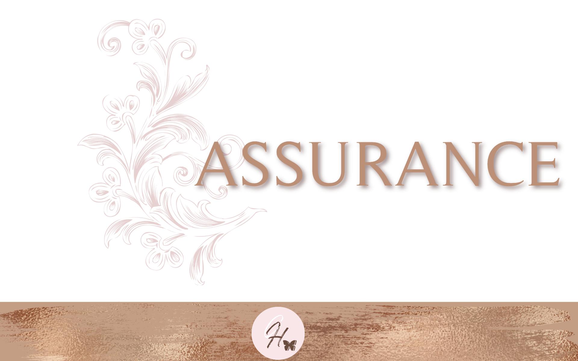 Assurance- Bible Study Guide