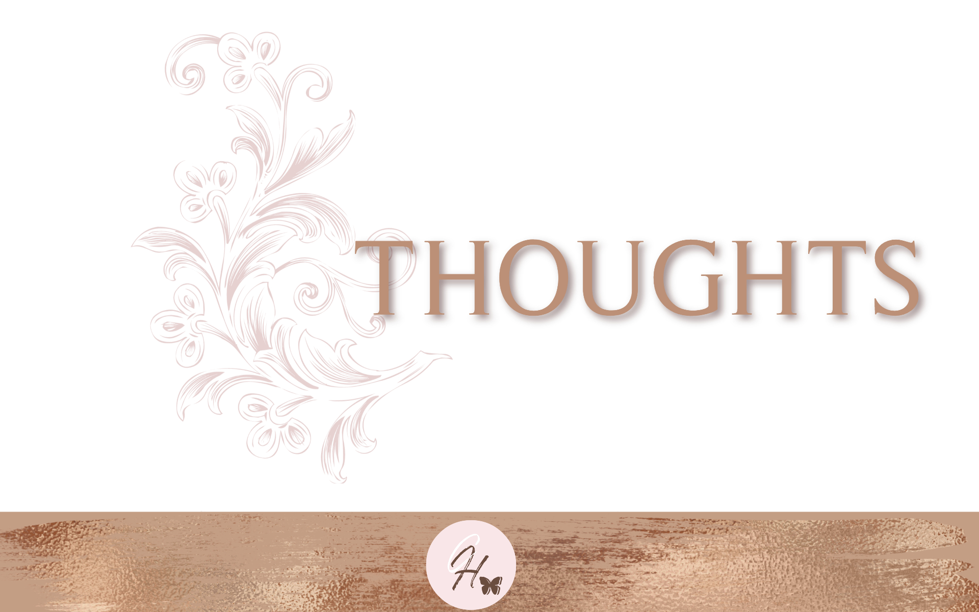 Thoughts - Bible Study Guide