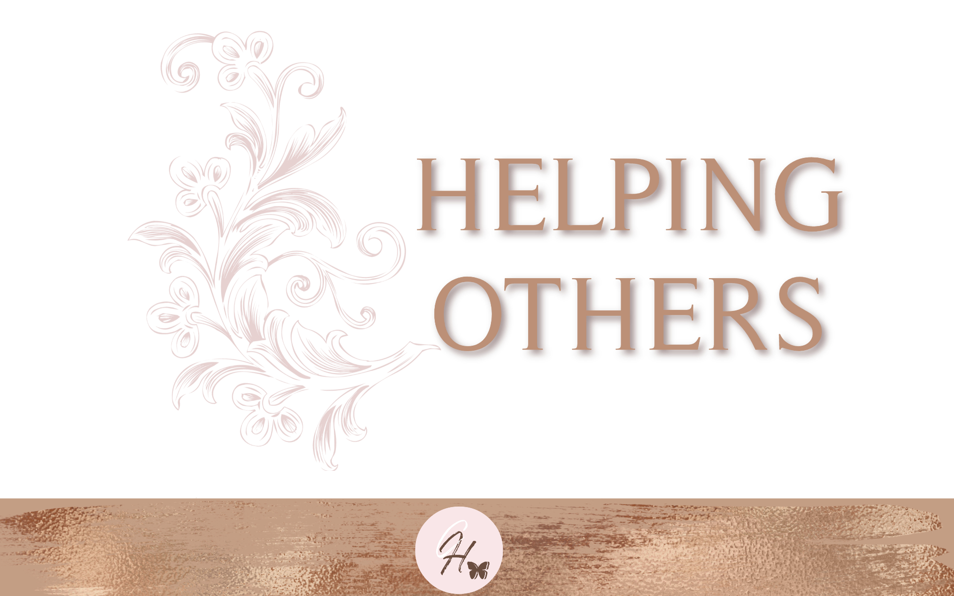 Helping Others - Bible Study Guide