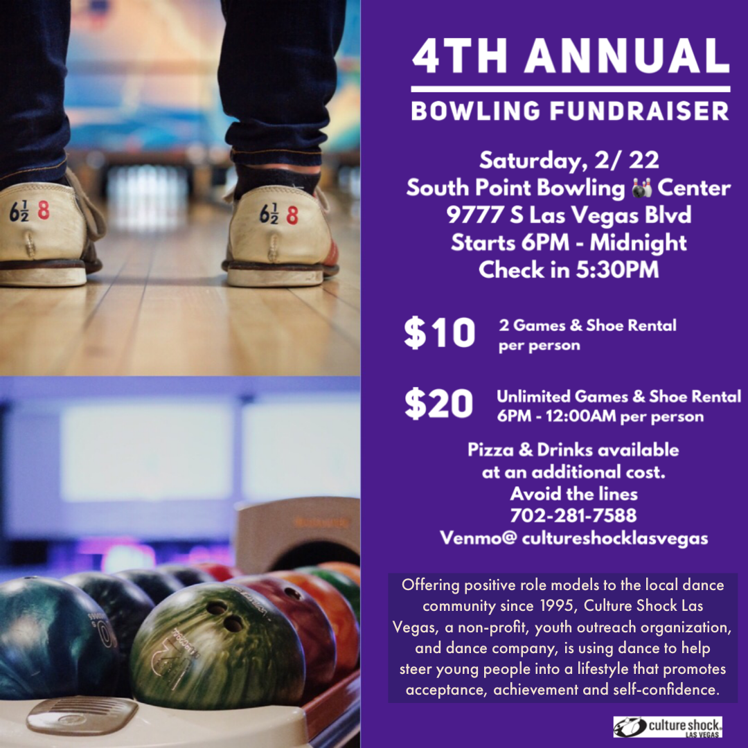 Bowling Fundraising at the South Point Casino
