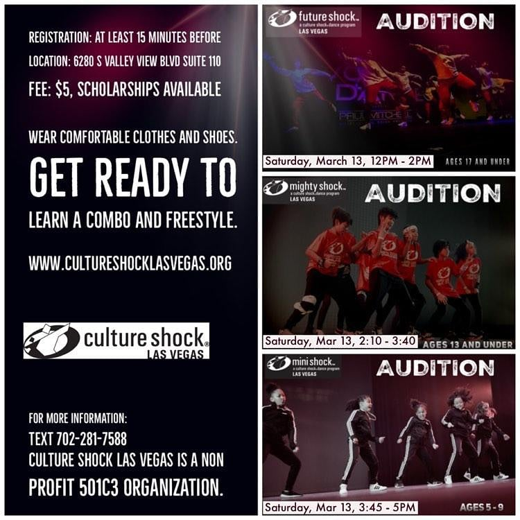 2021 Youth Auditions