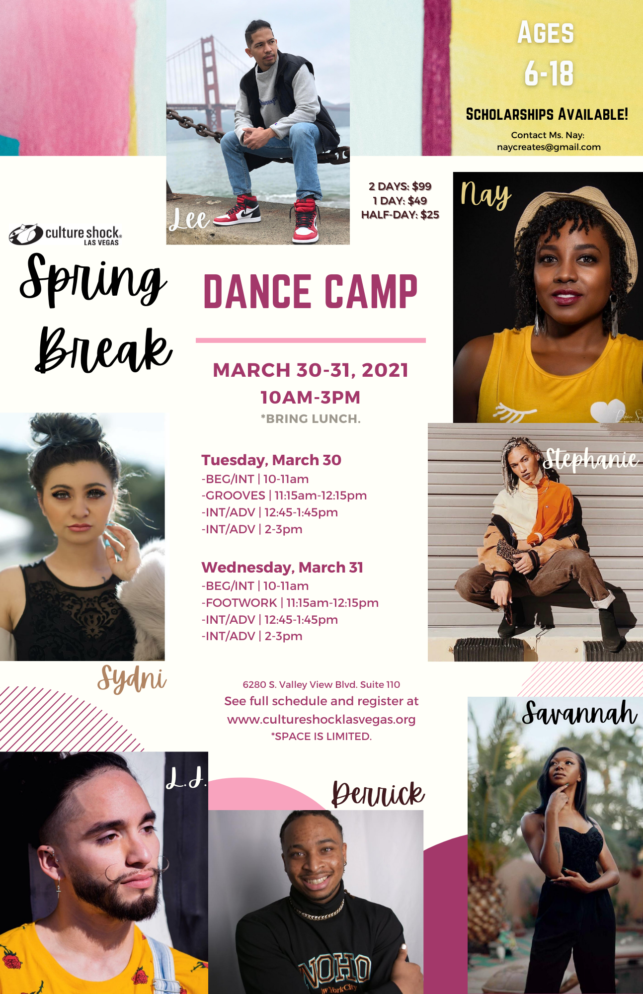 2021 Spring Break Dance Camp