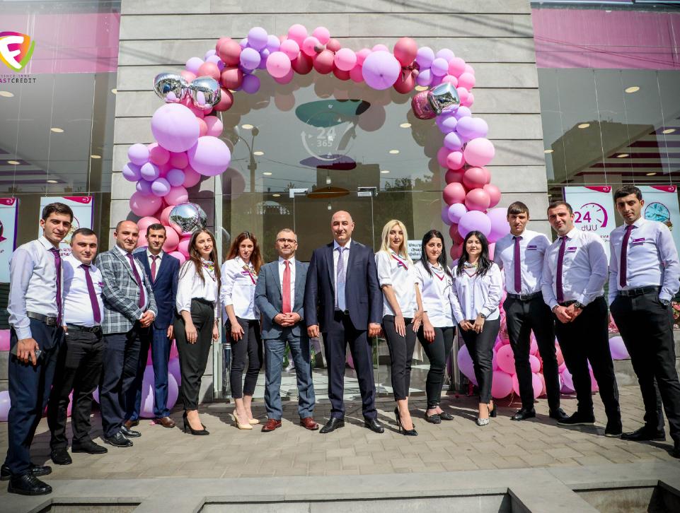 25th Fast Credit branch opens in Malatia-Sebastia administrative district