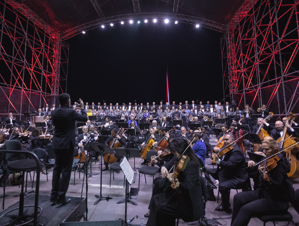 """Verdi's """"Requiem"""" was performed in Yerevan with the support of Fast Credit"""
