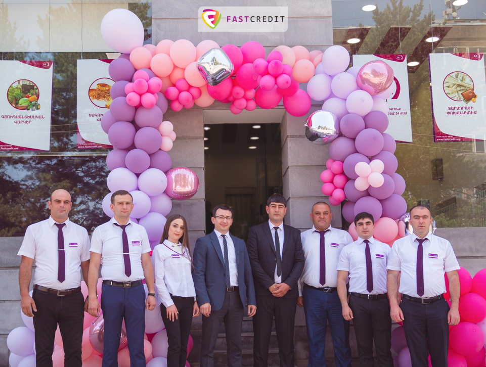 The new and comfortable branch of Fast Credit opened its doors in Artik