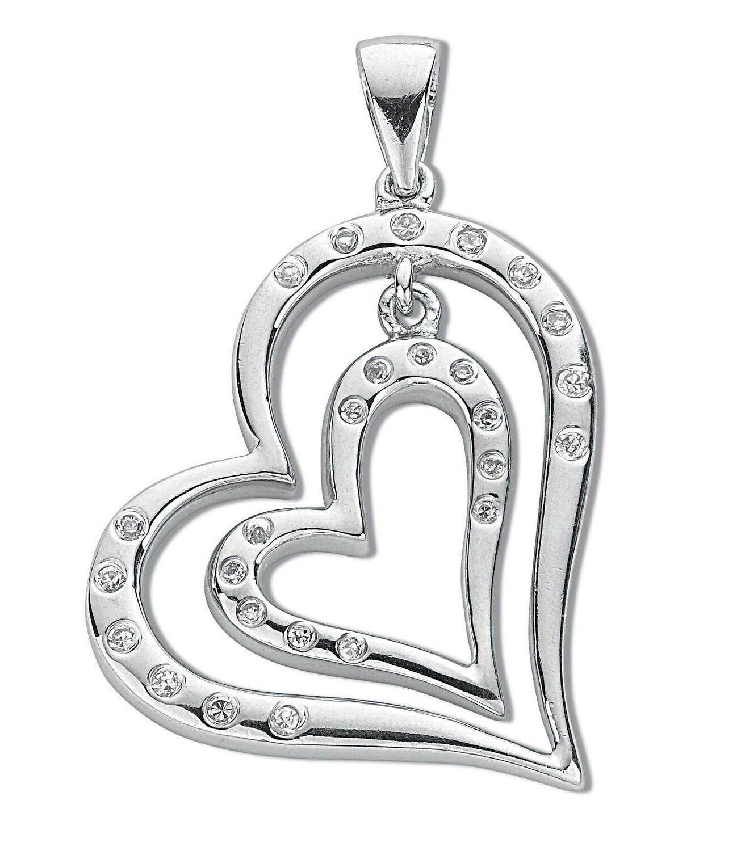 Heart shape pendants, the most popular Valentin's day gift