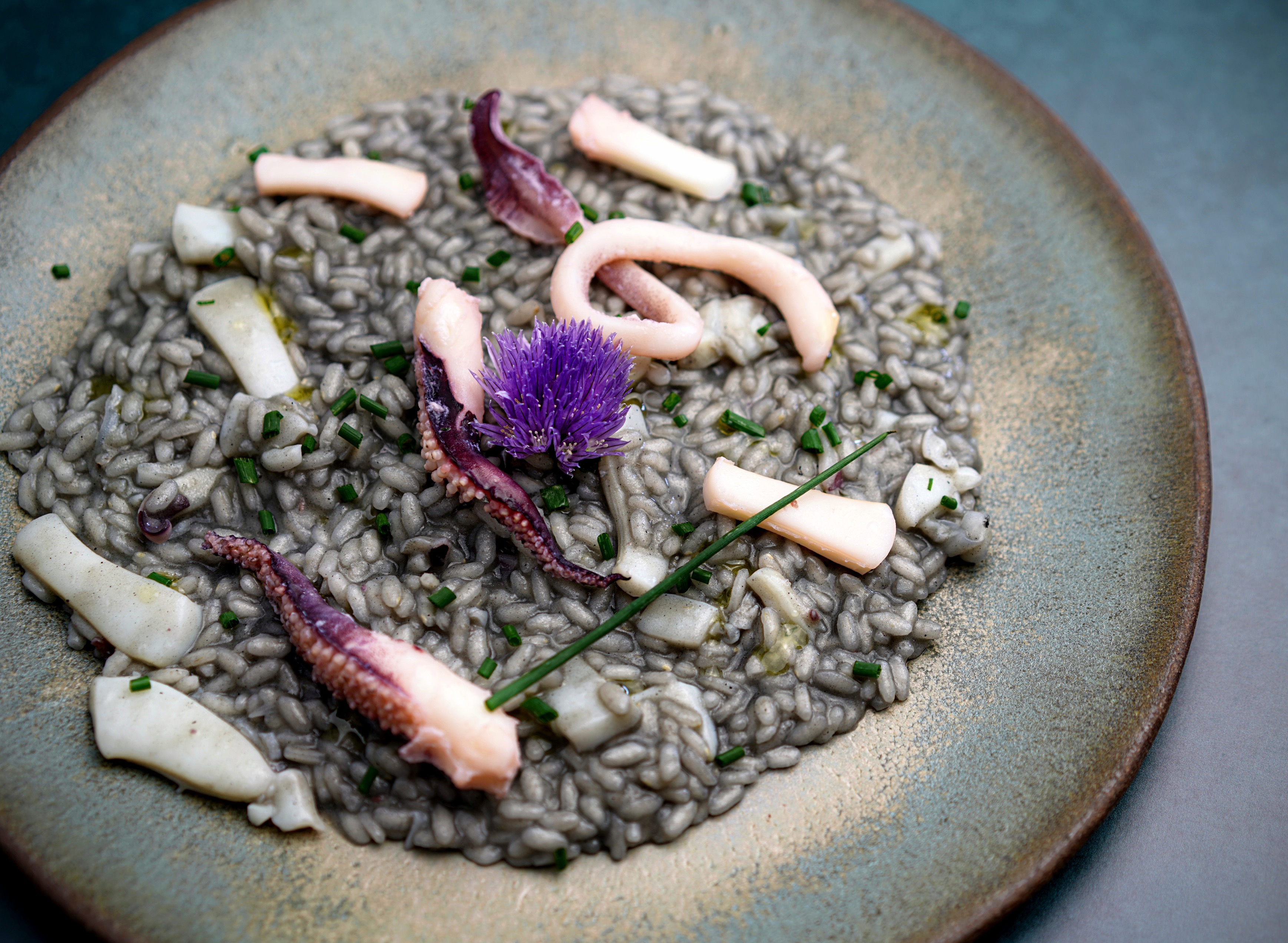 Cuttlefish & Ink Risotto
