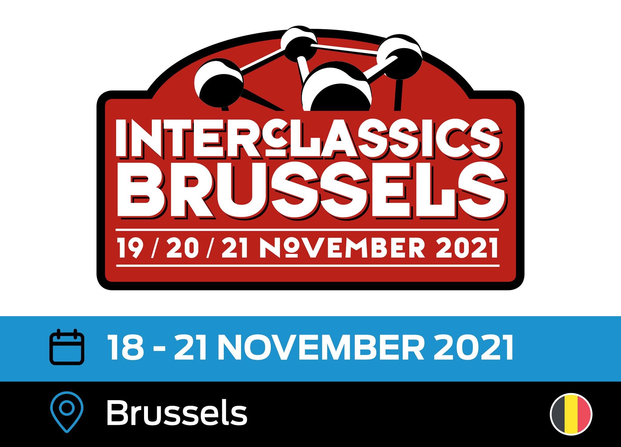 InterClassics Brussels 2021