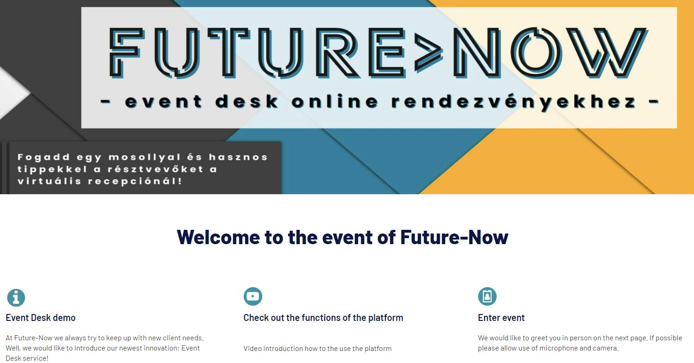 Debütált az Event Desk szolgáltatásunk