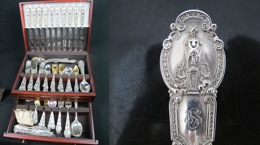 Rare and Stunning Tiffany & Co. 184 piece Sterling Silver Flatware