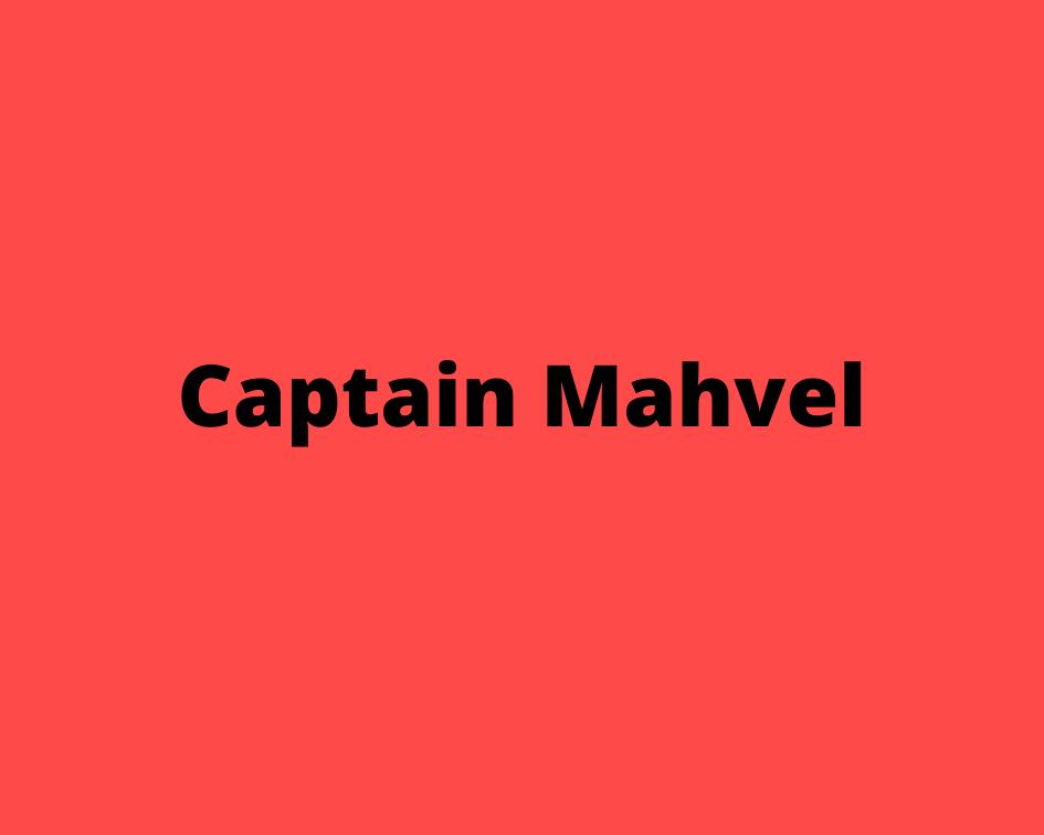 Captain Mahvel