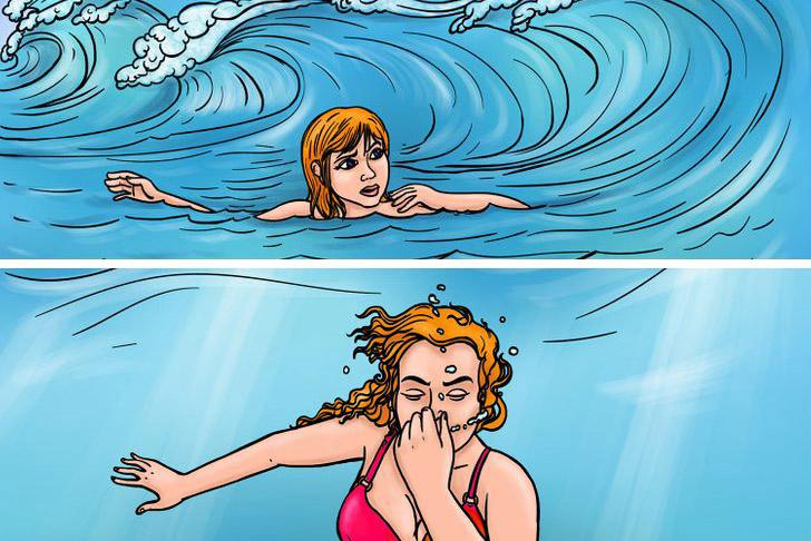4 ոչ ակնհայտ վտանգներ լողափում և լողալիս