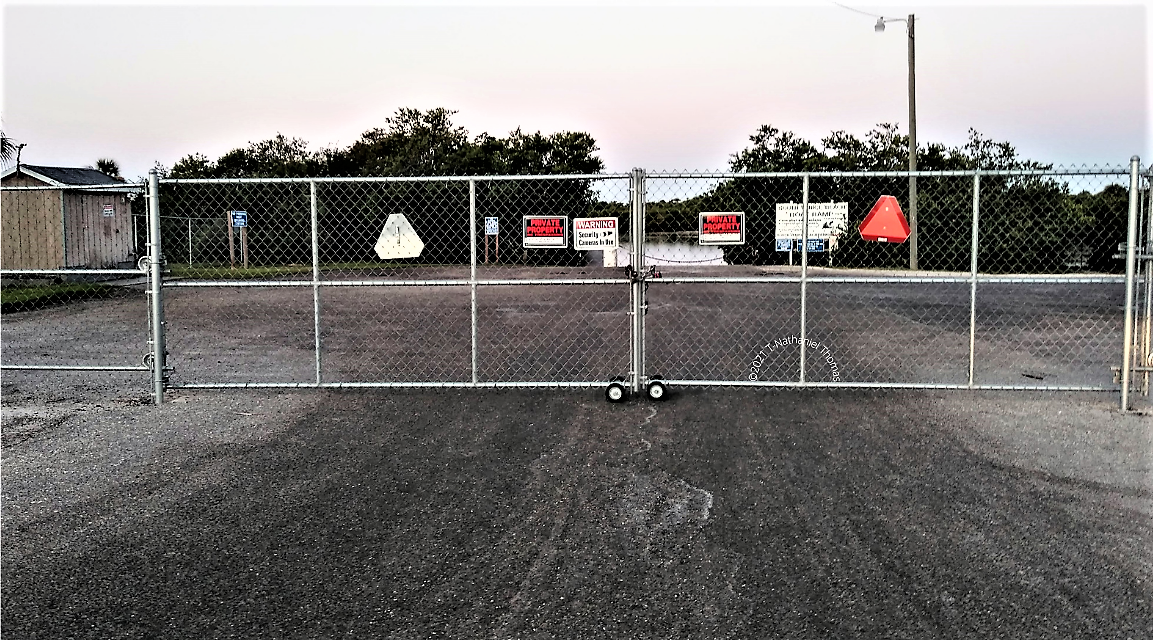 """PART 1 - """"THE FENCING"""" How a community park got gated while its beach erodes into the sea by KyleeliseTHT"""
