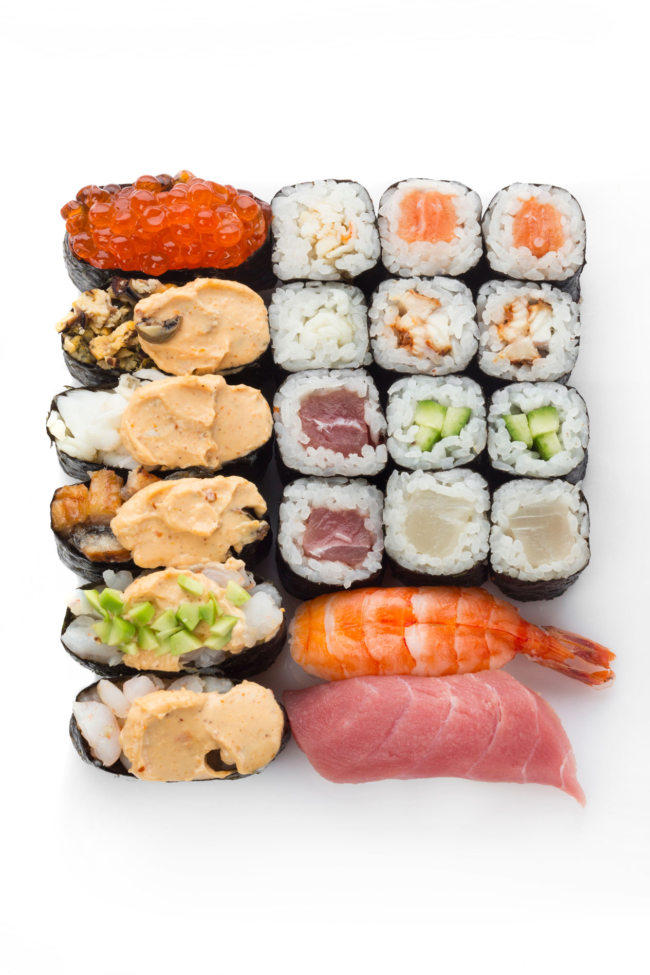 the history of sushi