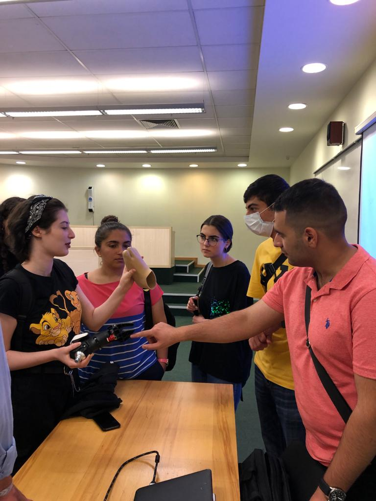 Recruitment day at the American University of Armenia - College of Science and Engineering
