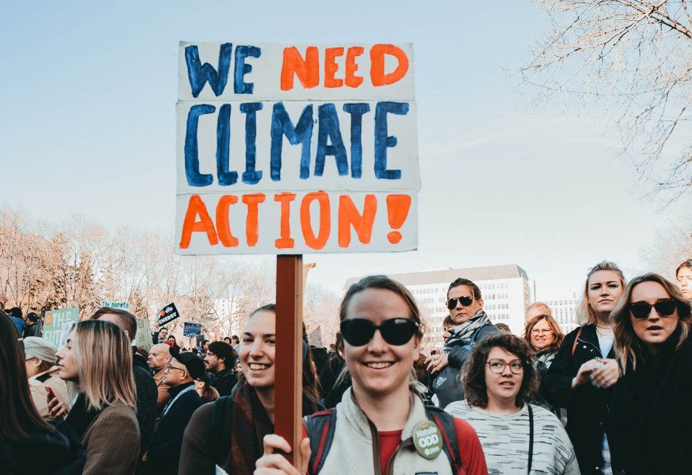 Union Organizes a Peaceful March for Climate Change Awareness