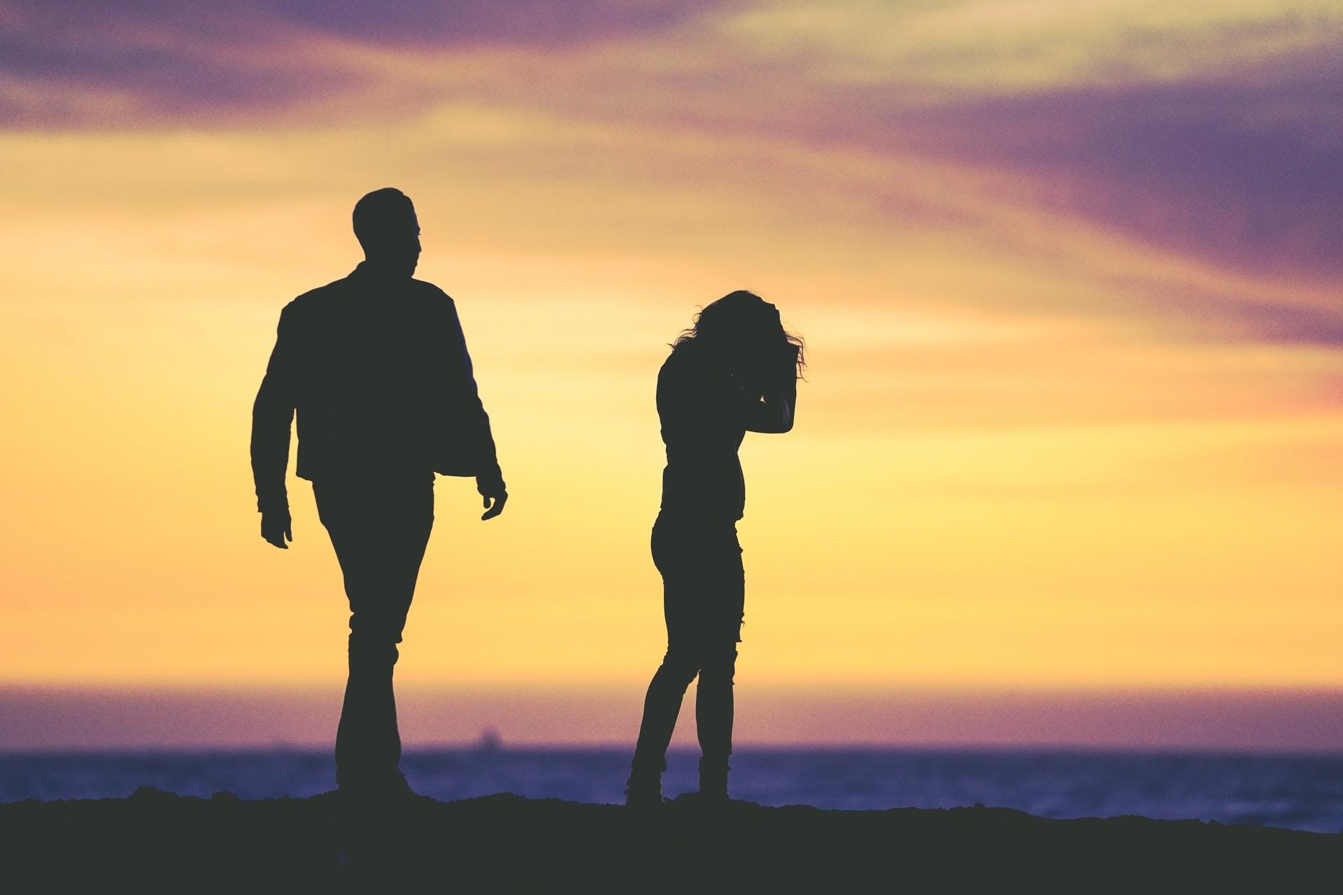 Brak pracy a wina w rozpadzie małżeństwa
