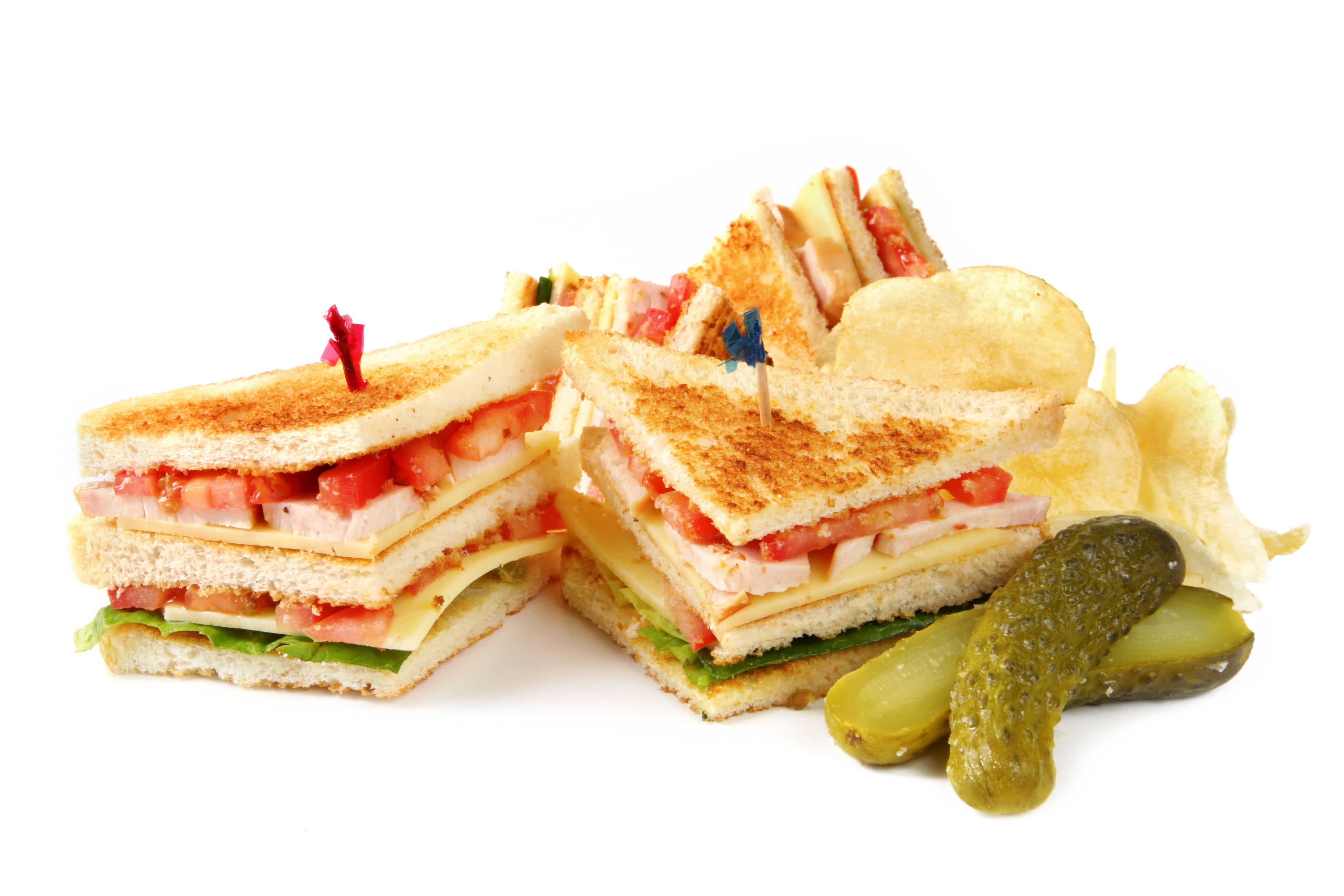 Sandwich with Pickles On the Side