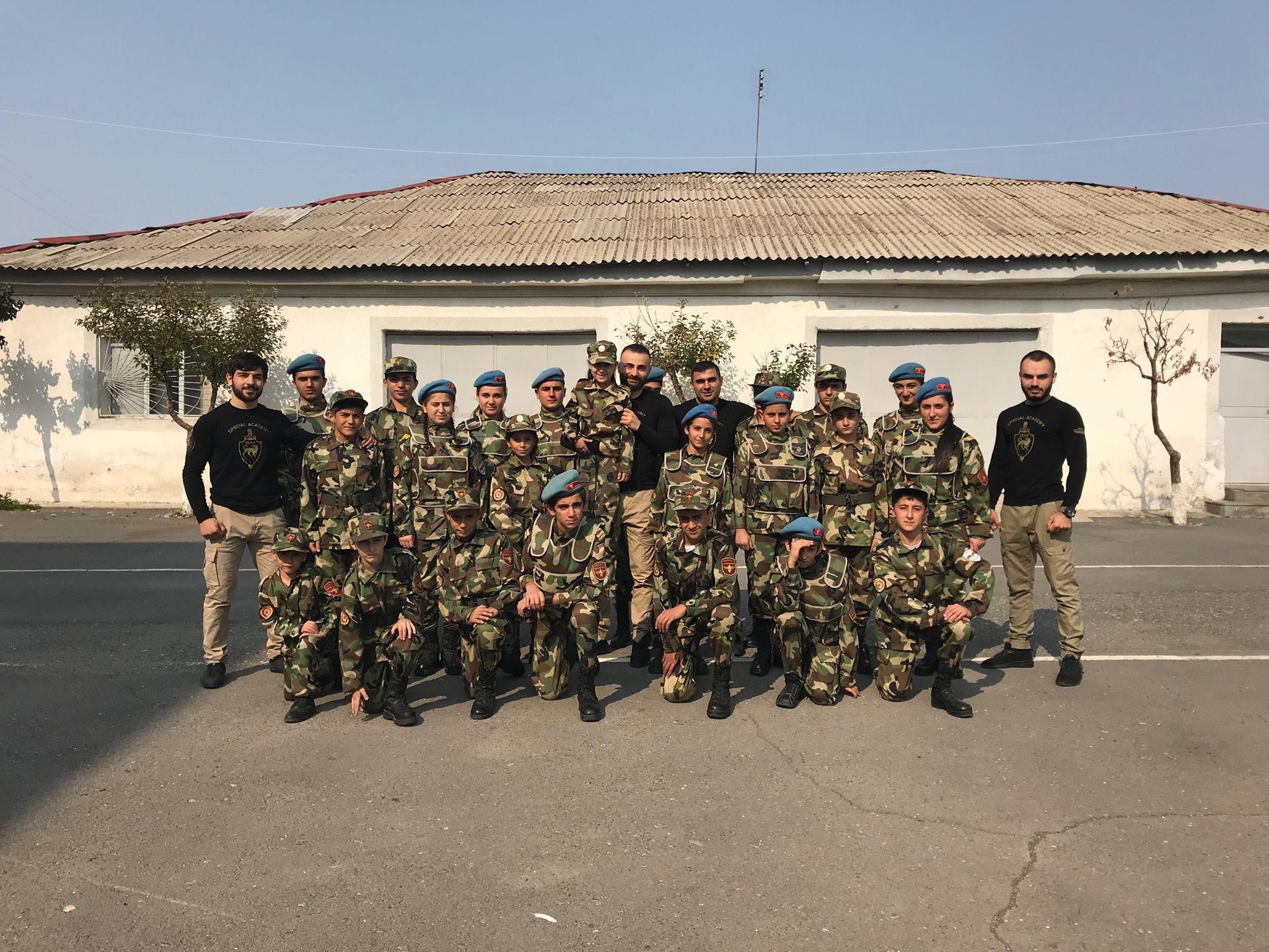 Workshop for Young Homeland Defenders (Yerkrapah) Union