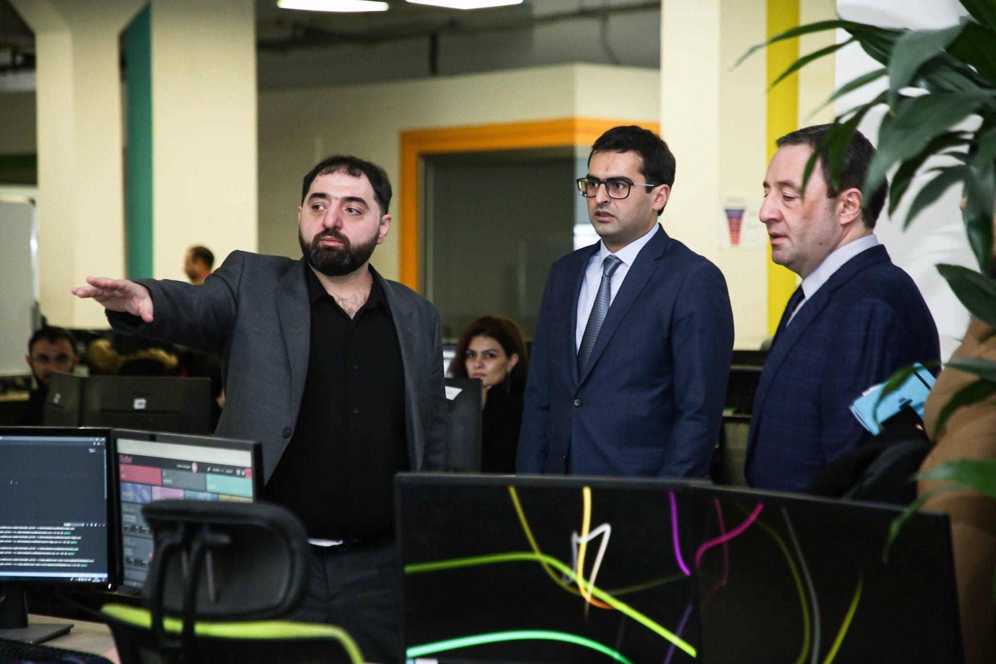 Hakob Arshakyan has visited SoftConstruct company