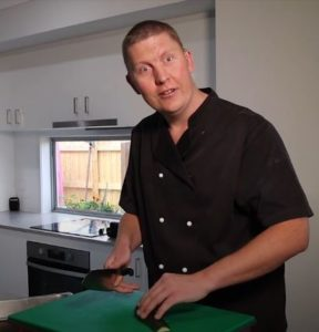 Blind 'Hurricane Chef' – just wants to get back into the kitchen!