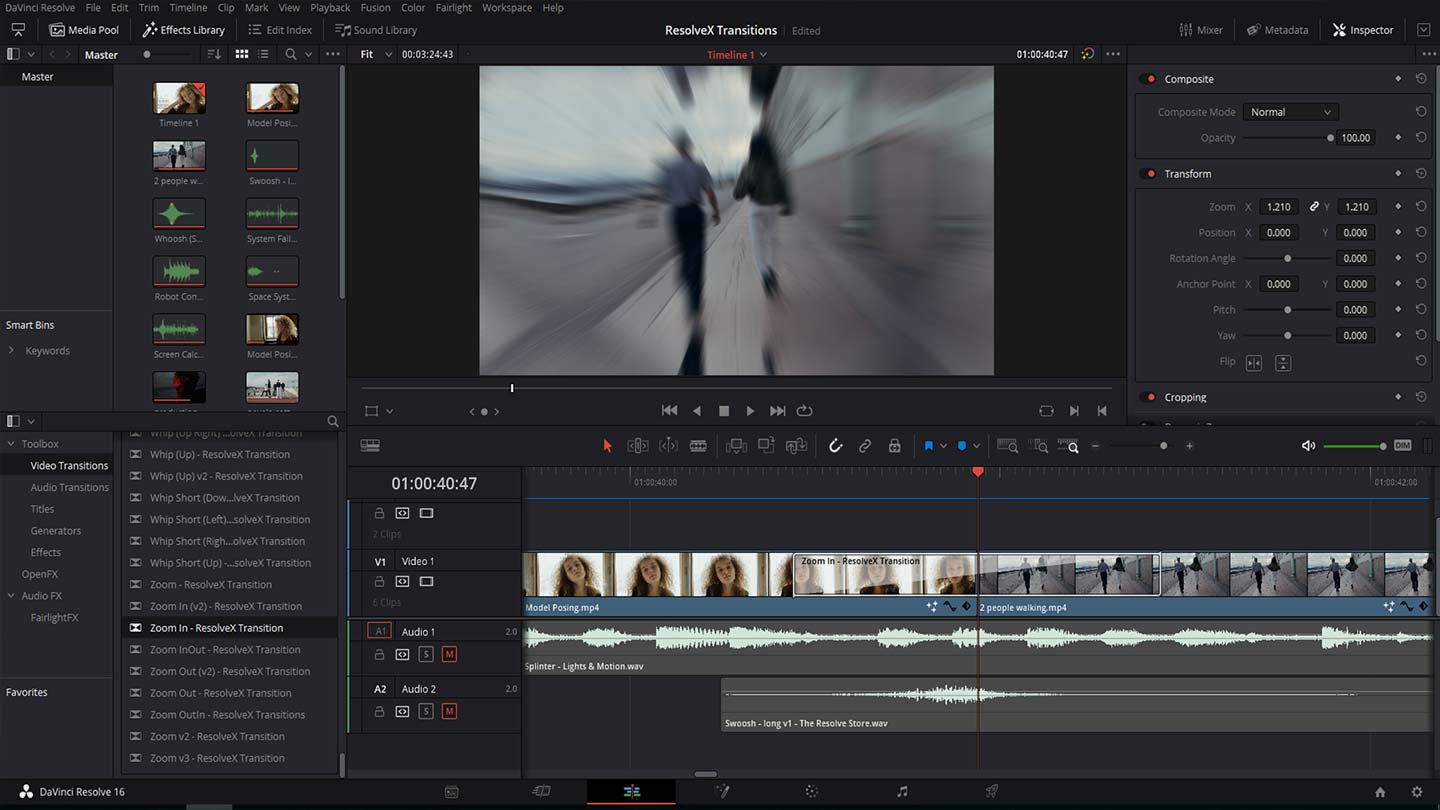 How to install transitions in DaVinci Resolve 16.2 & 17 Windows/iOS/Linux?