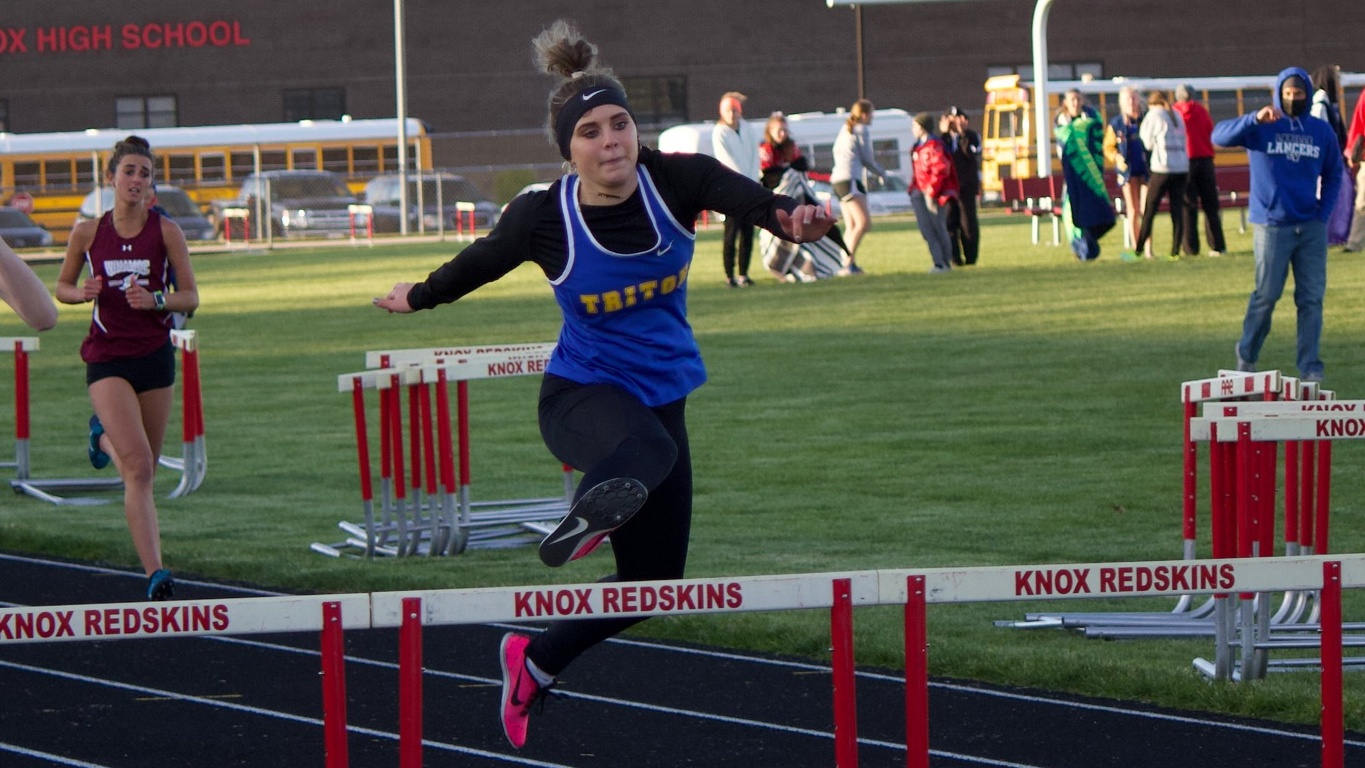 Lady Trojan Track 5th at Sectional, May Claims Hurdles Title