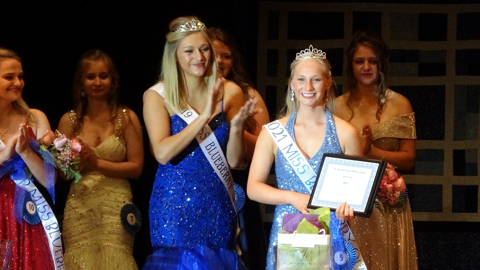 Triton Grad Jaela Faulkner Crowned Miss Blueberry 2021
