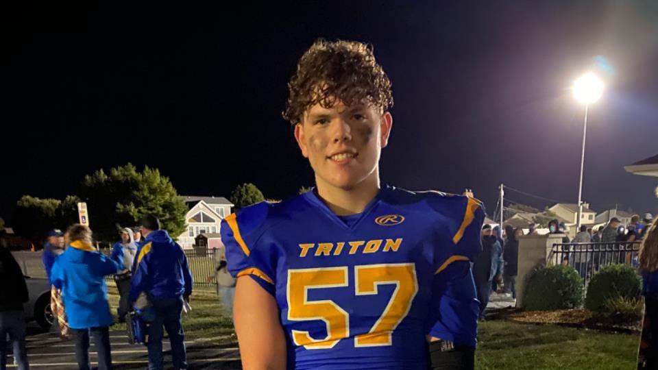 Triton Football Remembers Cameron Fairchild