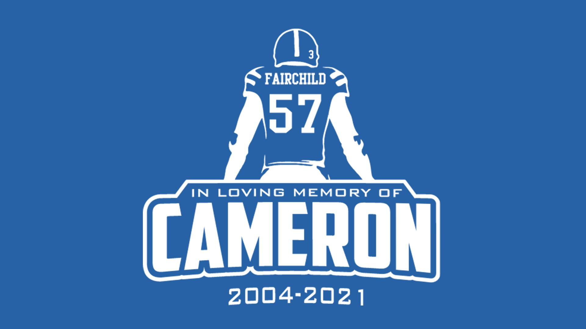 T-Shirts on Sale to Honor Cameron Fairchild