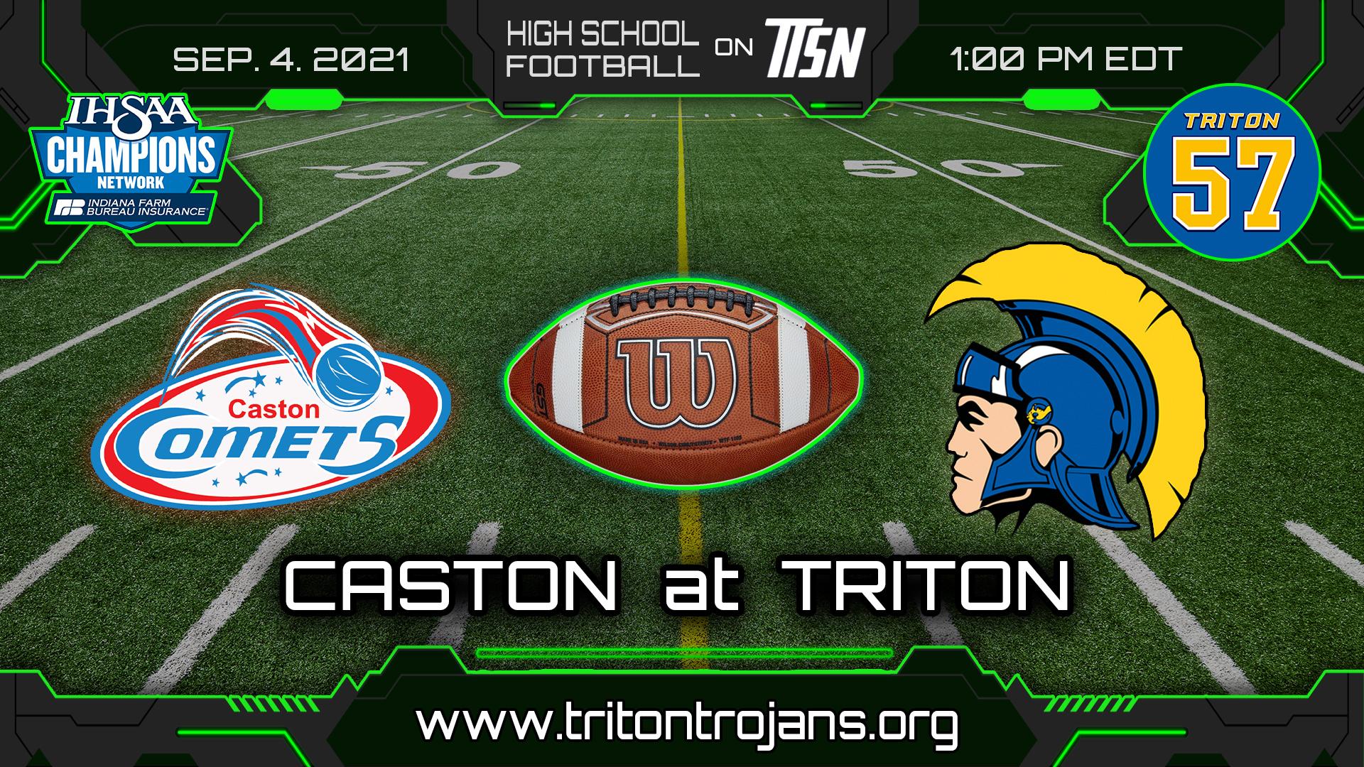 Caston at Triton Football - Gameday Info