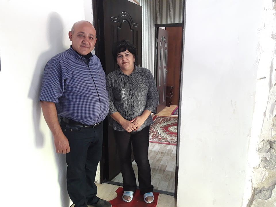 16th Wounded Veteran Receives a Home in Artsakh
