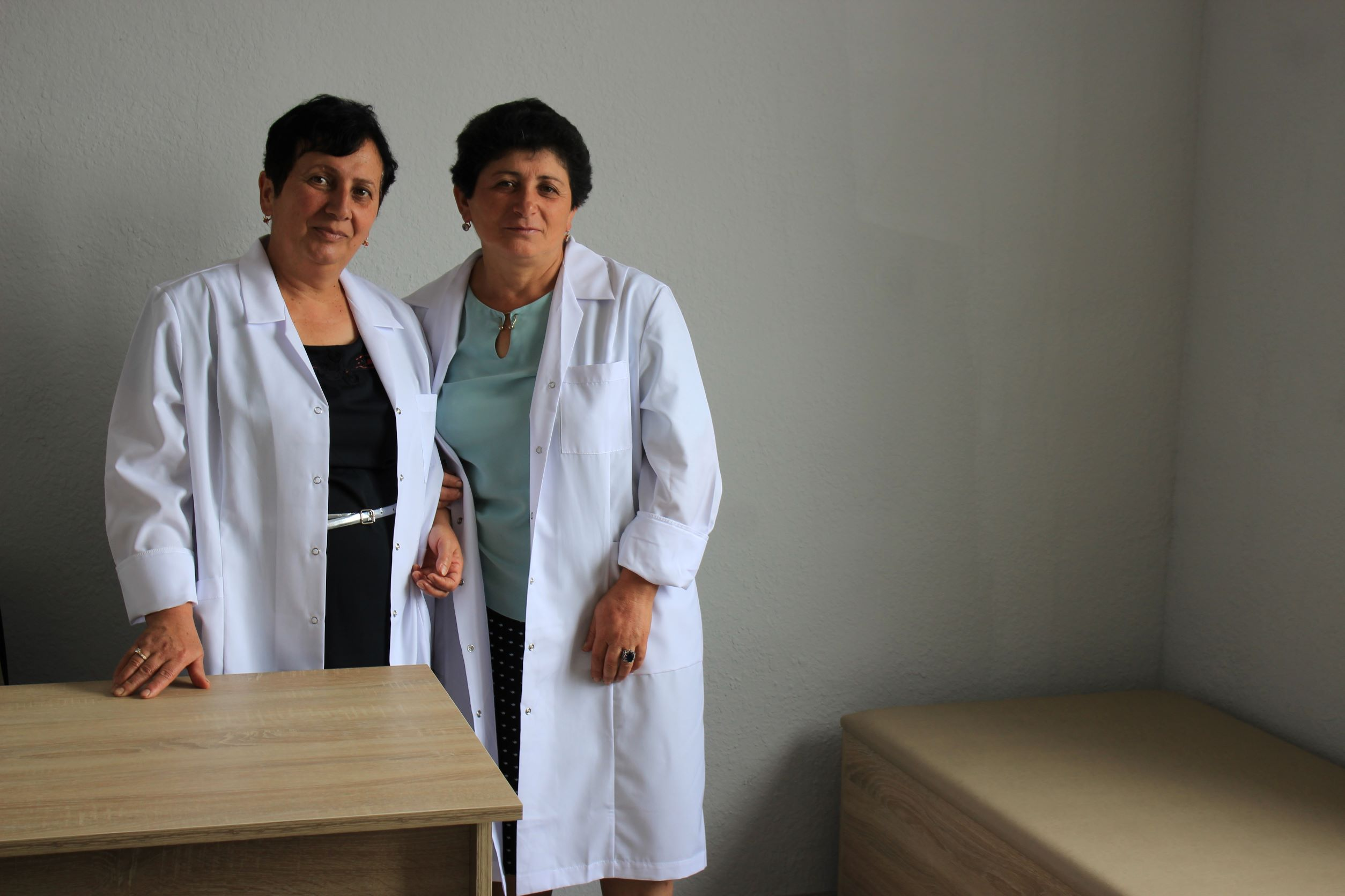 Artsakh's Herher Village Has a New Town Hall and Medical Clinic