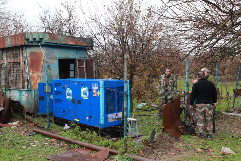Tufenkian Purchases New Generator for Artsakh's Norshen Village