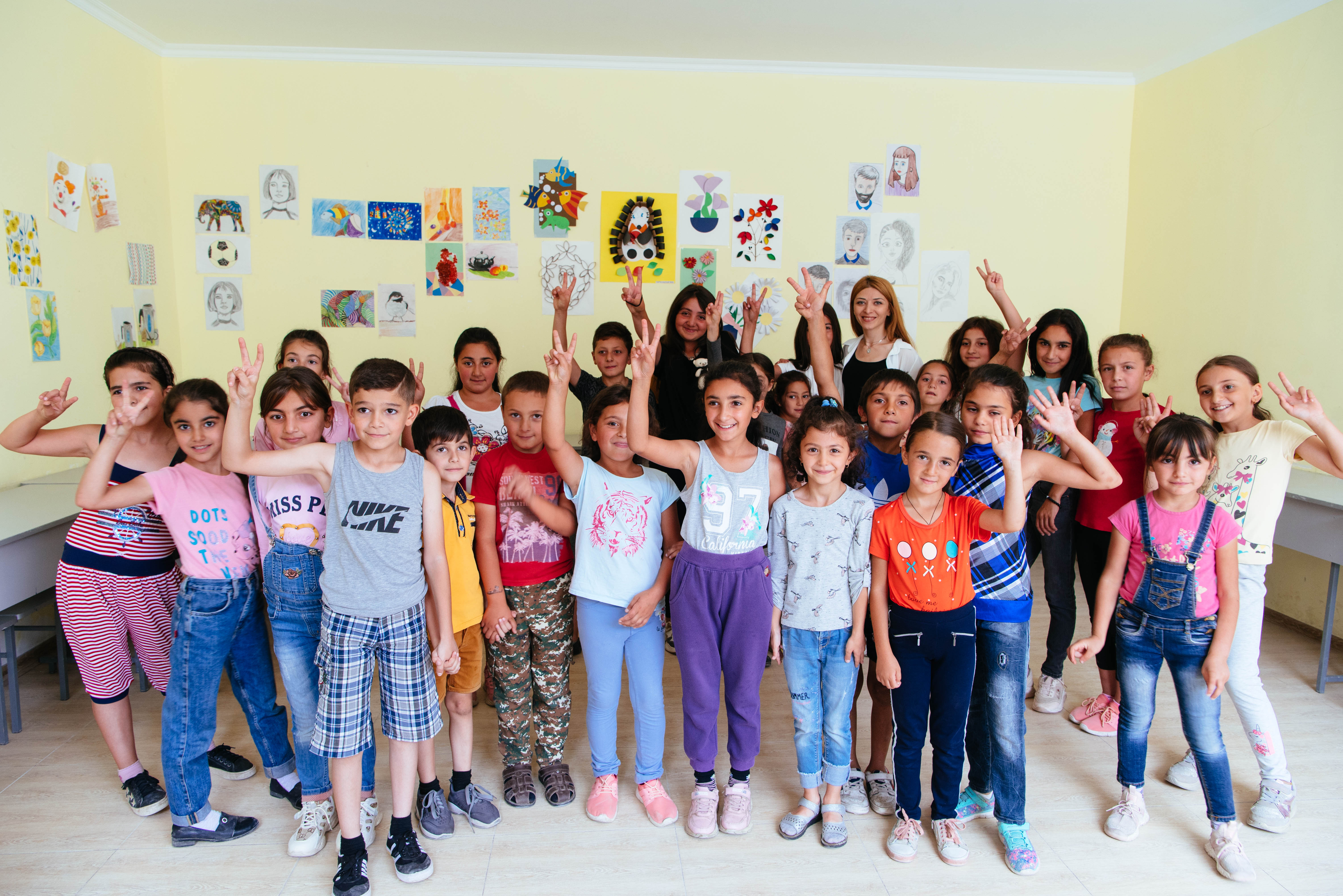 Tufenkian Foundation Friends and Staff Visit Family and Community NGO's Artik Center
