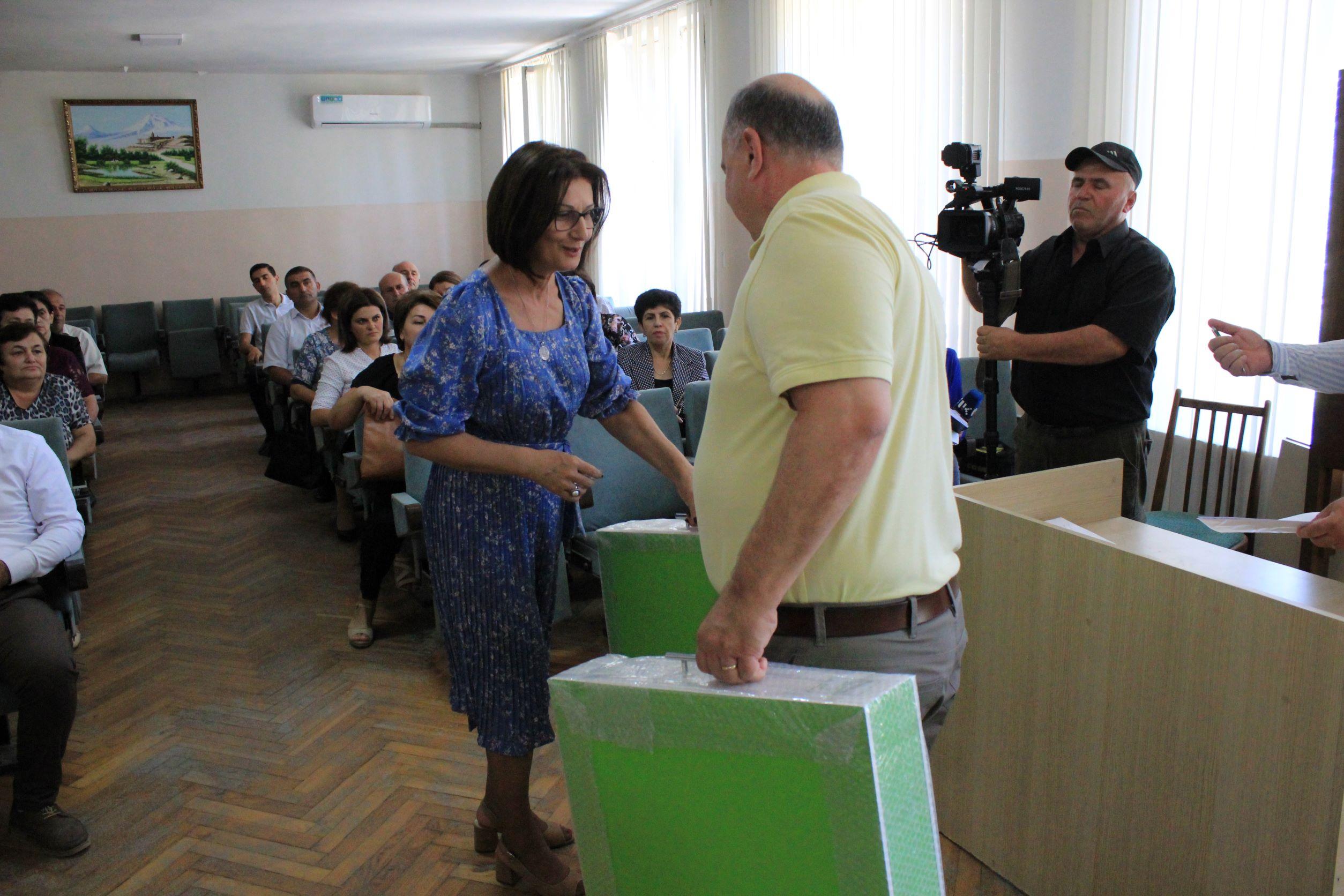 Twenty-Nine Schools Across Artsakh's Martuni Region Receive Science Lab Kits