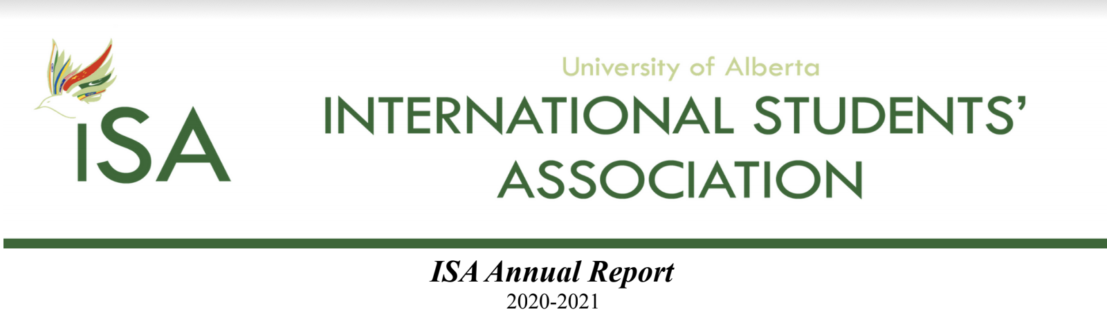 ISA Annul Report (2020-2021)