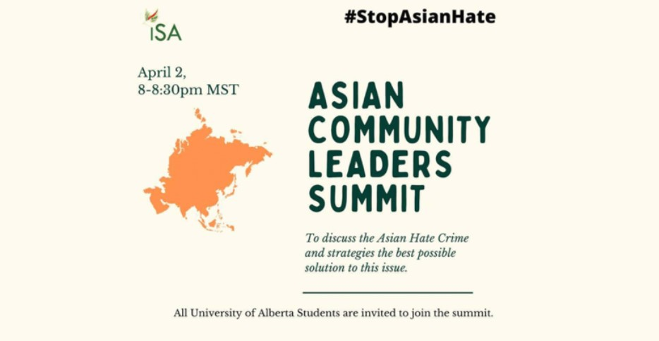 ISA STRONGLY STANDS AGAINST ANTI-ASIAN RACISM
