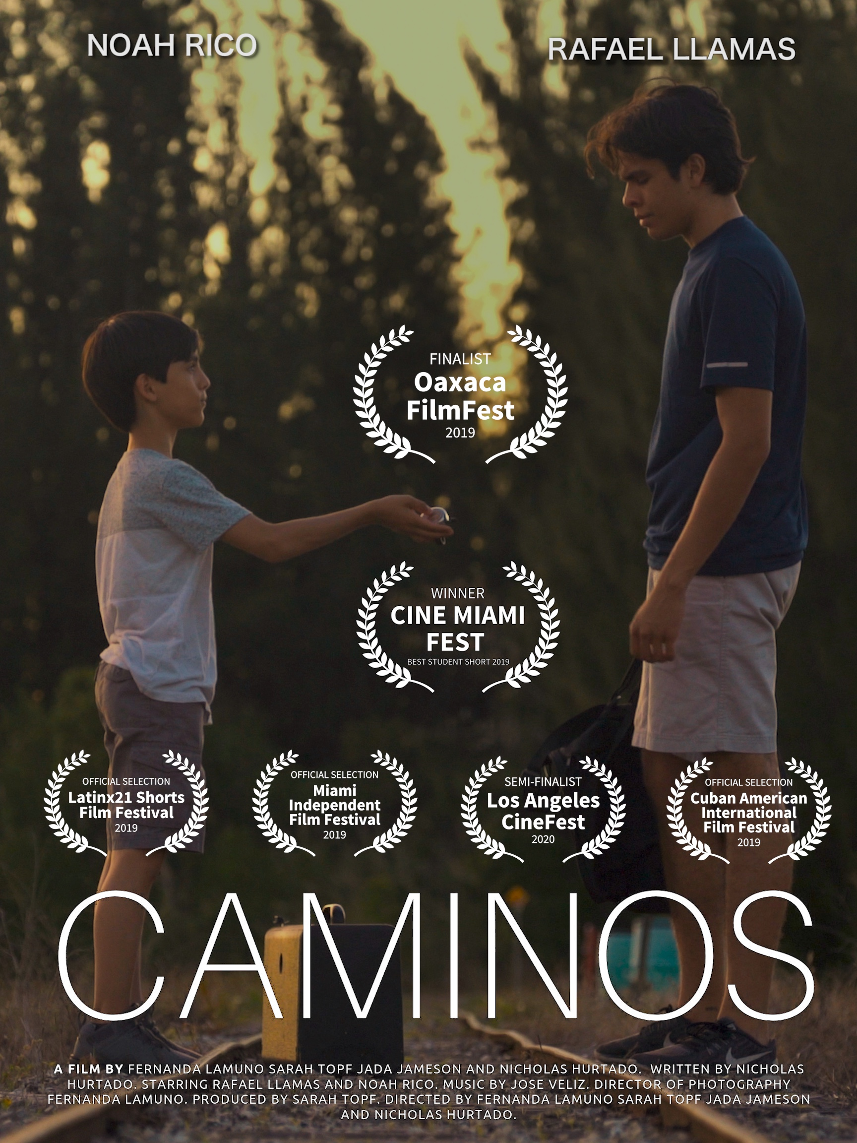 Student film Caminos wins multiple awards