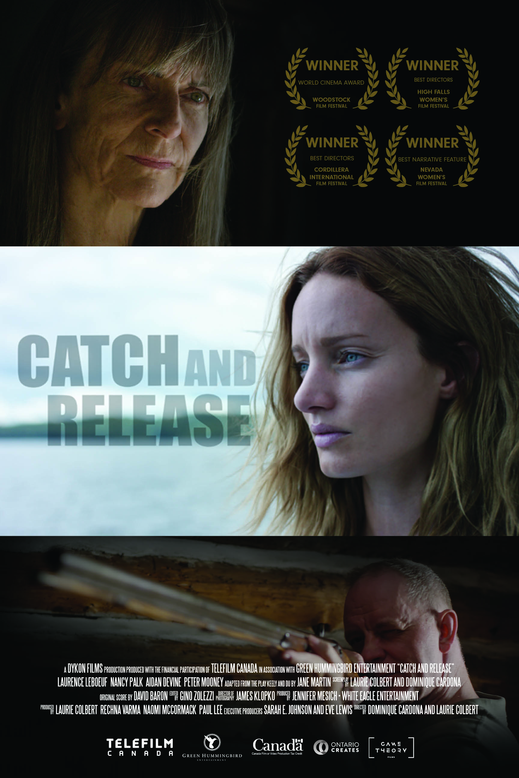 Catch and Release showing at Reel Women's Film Festival
