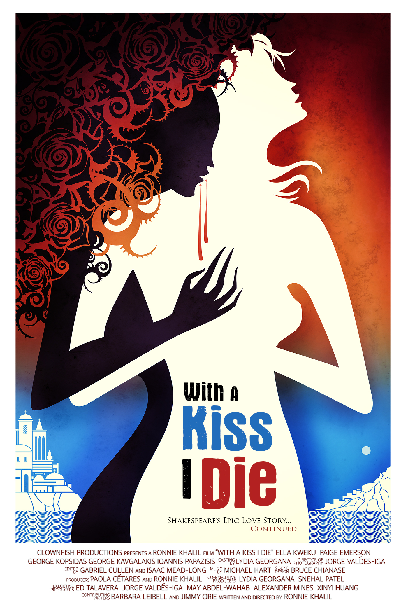 """With a Kiss I Die"" available on Amazon Prime"